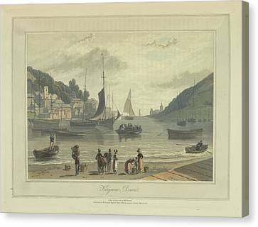 Kingswear Canvas Print by British Library