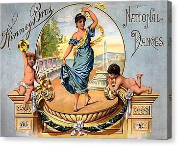 Kinney Bros National Dances Canvas Print by Studio Artist