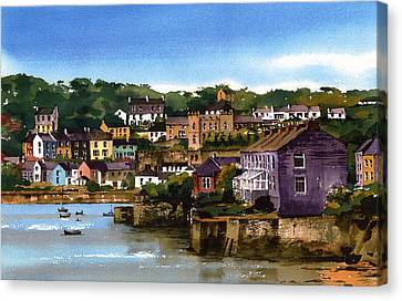 Kinsale Harbour West Cork Canvas Print