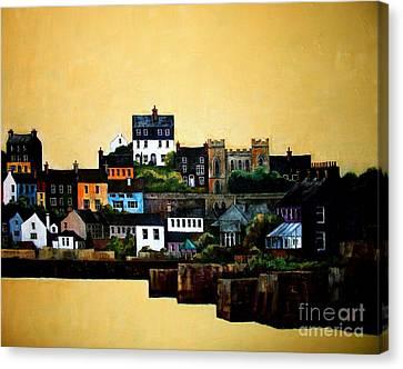 Cork Kinsale Harbour Canvas Print by Val Byrne