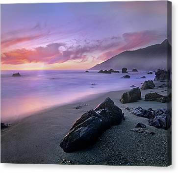 Kirk Creek Beach, Big Sur, California Canvas Print