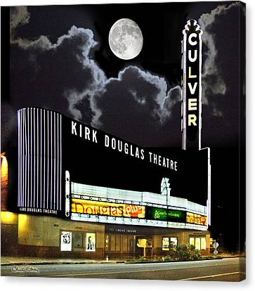 Kirk Douglas Theatre Canvas Print by Chuck Staley