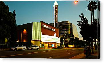 Kirk Douglas Theatre, Culver City, Los Canvas Print by Panoramic Images
