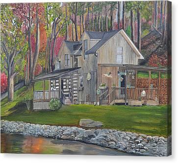 Kirkner Cabin Canvas Print