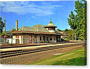 Kirkwood Station Canvas Print by Marty Koch