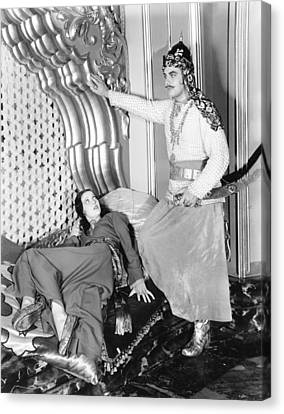 Kismet, From Left Loretta Young, Sidney Canvas Print by Everett
