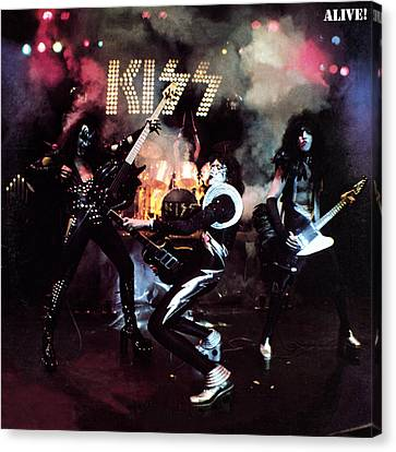 Kiss - Alive! Canvas Print by Epic Rights