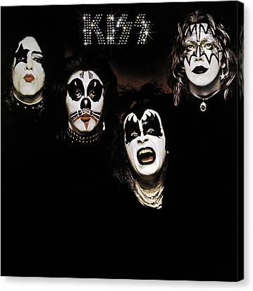 Kiss - Kiss Canvas Print by Epic Rights