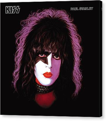 Kiss - Paul Stanley Canvas Print by Epic Rights
