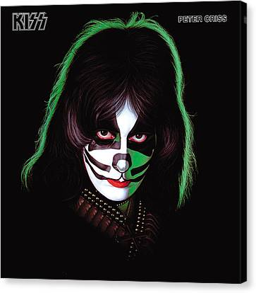 Kiss - Peter Criss Canvas Print by Epic Rights
