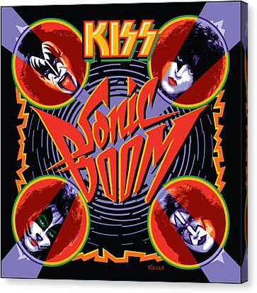 Kiss - Sonic Boom Canvas Print by Epic Rights