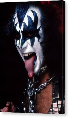 Kiss - The Demon Canvas Print by Epic Rights