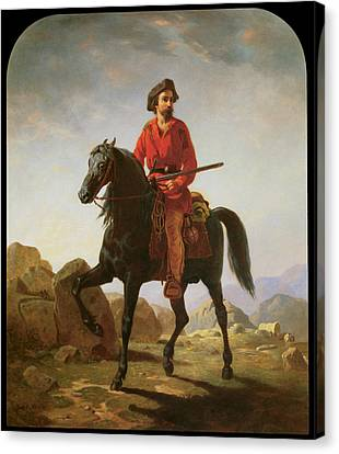 Kit Carson Canvas Print by William Tylee Ranney
