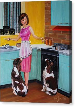 Kitchen Companions Canvas Print