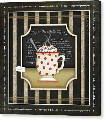 Kitchen Cuisine Coffee IIi Canvas Print