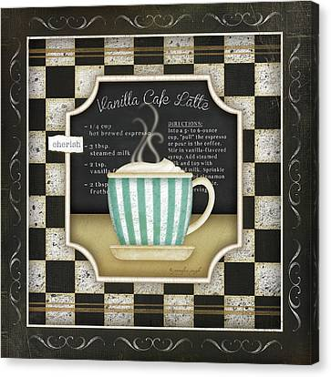 Kitchen Cuisine Coffee Iv Canvas Print