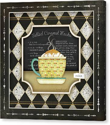 Kitchen Cuisine Coffeei Canvas Print