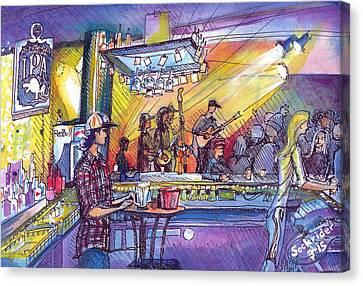 Kitchen Dwellers  Canvas Print by David Sockrider
