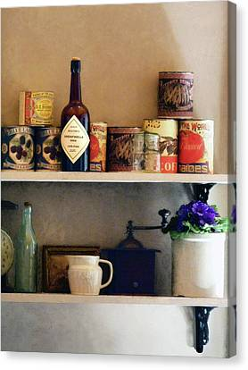 Cook Canvas Print - Kitchen Pantry by Susan Savad