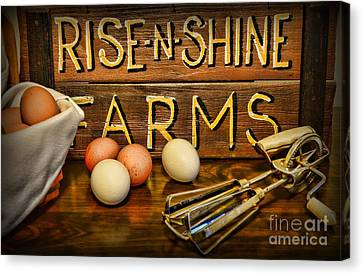 Kitchen  Rise And Shine Canvas Print by Paul Ward