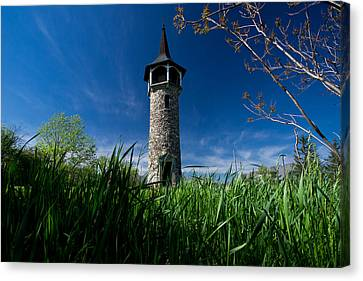 Mennonite Canvas Print - Kitchener's Pioneer Tower by Cale Best
