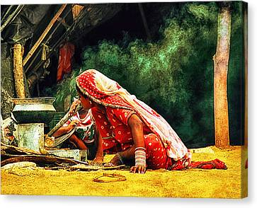 Kitchens Of India Canvas Print