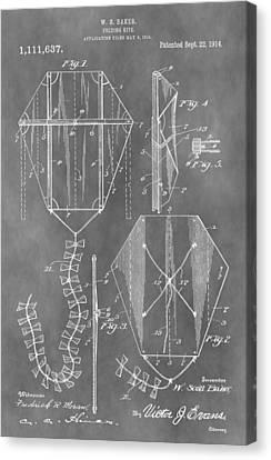 Kite Patent Canvas Print