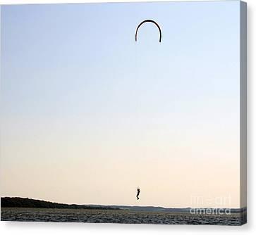 Kite Surfing Denmark Canvas Print