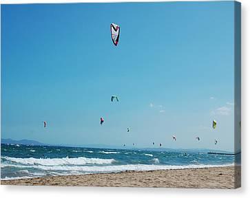 Kitesurf Lovers Canvas Print