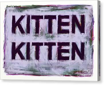 Kitten Kitten Canvas Print by Keith Mills