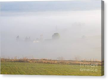 Kittitas Valley Farm Canvas Print by Mike  Dawson
