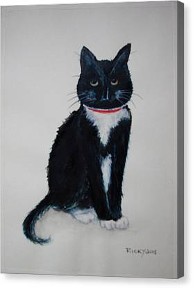 Kitty - Painting Canvas Print