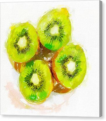 Kiwi 2 Canvas Print by Chris Butler