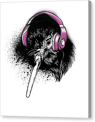 Kiwi Beats Canvas Print