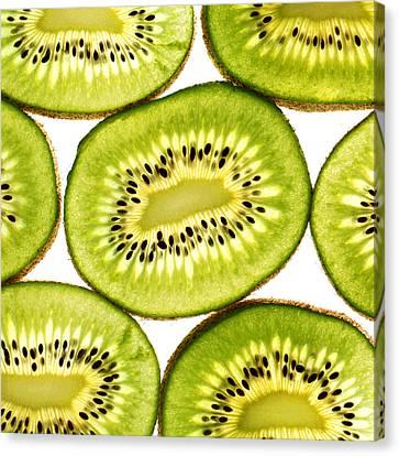 Kiwi Fruit IIi Canvas Print by Paul Ge