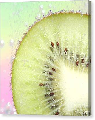 Kiwi Splash Canvas Print by Ruth Jolly