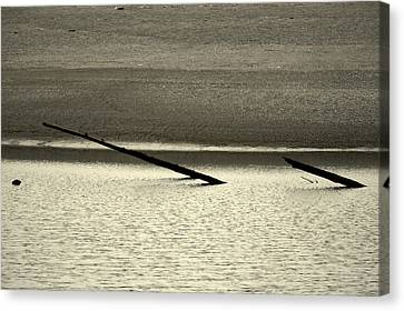 Riverscape Canvas Print - Klamath River Mouth - A Bliss Place by Christine Till