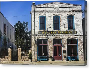 Klauber Building  Canvas Print by Steven  Taylor