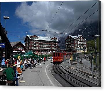 Kleine Schedegg Switzerland Canvas Print