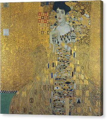 Klimt Adele Bloch-bauer Canvas Print by Granger