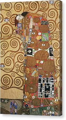 Klimt Fulfillment Canvas Print by Granger