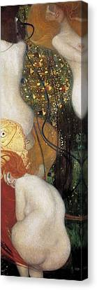 Klimt, Gustav 1862-1918. Goldfish Canvas Print by Everett