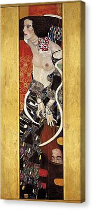 Klimt, Gustav 1862-1918. Salome. 1909 Canvas Print by Everett