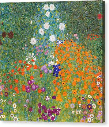 Klimt Landscape  Canvas Print by Georgia Fowler