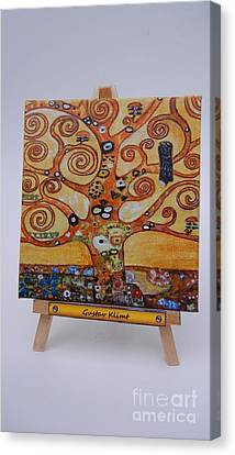 Klimt Tree Of Life Canvas Print