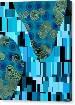 Klimtolli - 08blbl0101 Canvas Print
