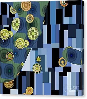 Klimtolli - 27 Canvas Print