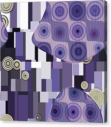 Klimtolli - 28 Canvas Print by Variance Collections