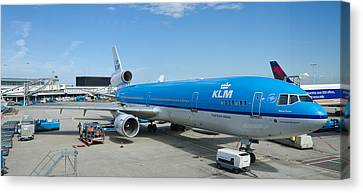 Klm Canvas Print - KLM by Pablo Lopez
