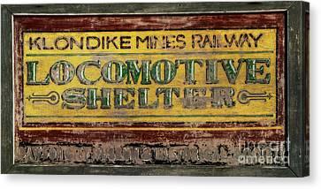 Klondike Mines Railway Canvas Print by Priska Wettstein